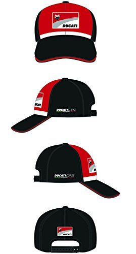 MotoGP Apparel - Gorra Marlboro Patch Front, Color Negro, Talla única