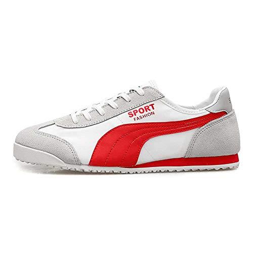 pangping Original Laufschuhe für Herren, gestreiftes Segeltuch, atmungsaktiv, 2020 Outdoor, Joggen, Walk, Sportschuhe, Athletic Sneakers