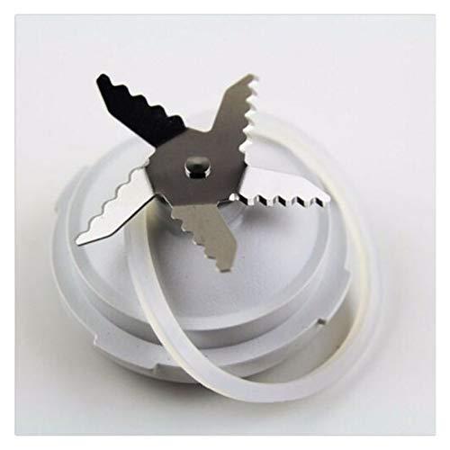 Batidoras Piezas de Repuesto Unidad de cuchillo de cuchillas que incluye el anillo de sellado compatible con Philips HR7625 HR7620 RI7620 RI7625 HR2160 Exprimidor Accesorios de Blender Repuesto