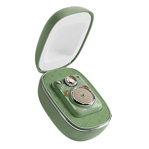 El mini altavoz Bluetooth Smart, con un altavoz de papel de tambor de mica de 16 núcleos en la parte superior, puede escuchar canciones, grabaciones de llamadas, complemento MP3, 12 horas de reproducc