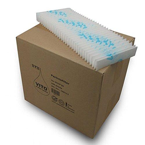 VITO Aceite de Freir - 50 filtros para fltradora 30