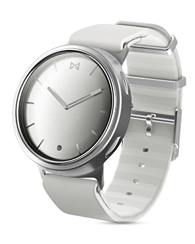 Misfit Wearables Phase Smartwatch, zilver/wit