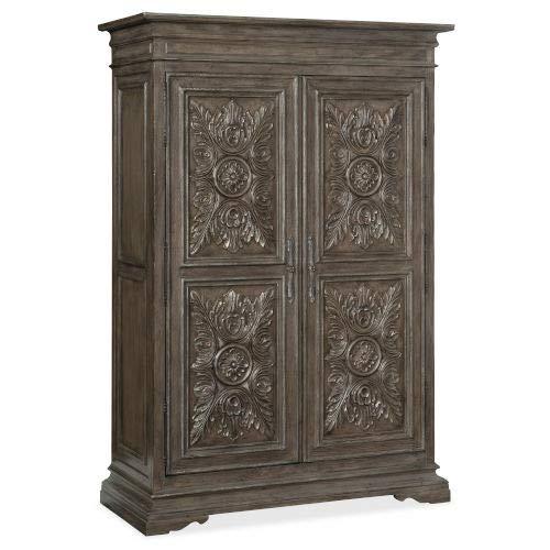 Review Of Hooker Furniture Woodlands Medium Wood 59-Inch Wardrobe
