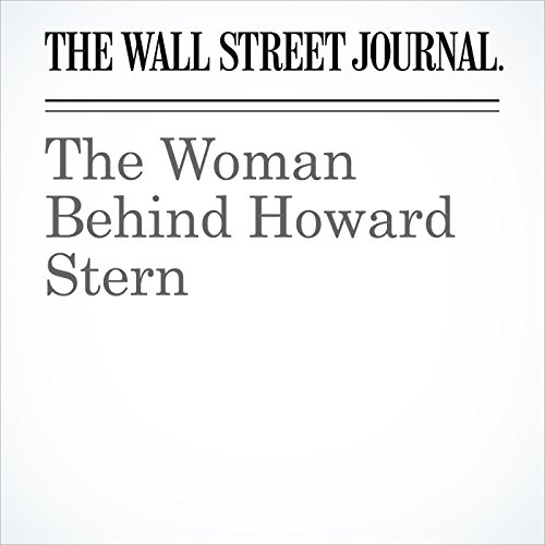 The Woman Behind Howard Stern audiobook cover art