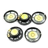 PRINDIY 5 altavoces magnéticos de 29 mm, 8 ohmios, 0,25 W, para juguetes eléctricos