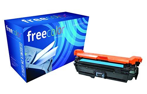 freecolor CE251A für HP Color LaserJet CP3525, Premium Tonerkartusche, wiederaufbereitet, 7.000 Seiten, 5 Prozent Deckung, CYAN