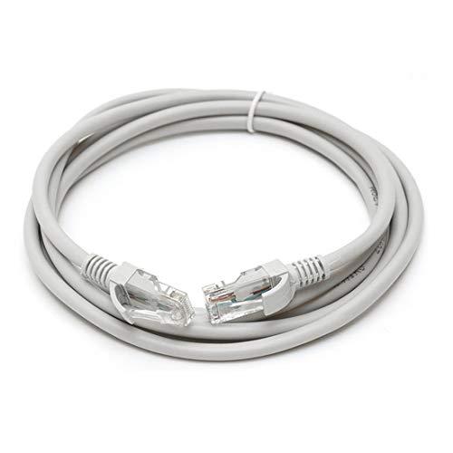 NoyoKere Cable Ethernet RJ45 1M 1.5M 2M 3M 5M 10M 15M 20M 25M 30M para Cat5e Cable de Cable LAN de Parche de Red de Internet para computadora PC