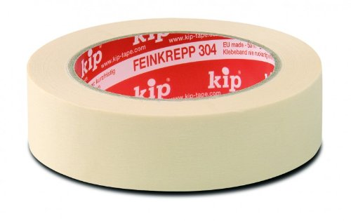 3 Rollen Kreppband kip Feinkrepp Standard Qualität 304-30 - 50 m x 30 mm