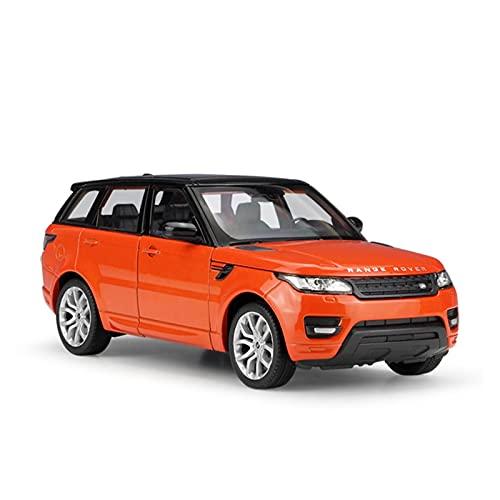 Fabbrica Originale 1:24 for Range Rover Sport SUV Fuoristrada Simulazione Modello di Auto in Lega Collezione for Adulti Artigianato Giocattolo Regalo (Colore : 2)