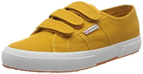 Superga 2750-cot3strapu, Zapatillas de Gimnasia Unisex Adulto, Amarillo (Yellow Golden W8u), 43 EU