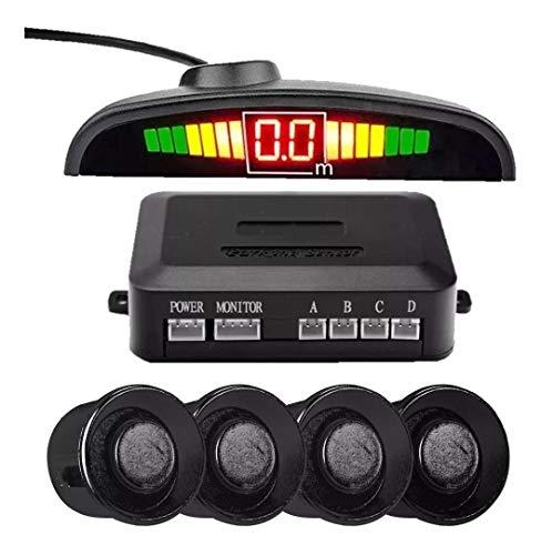Sensor De Estacionamento para Ré com 4 Sensores e Display de Aviso Sonoro