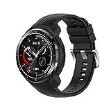 Chofit Correas compatibles con Huawei Honor Watch GS Pro, correa de silicona suave para reloj Honor Watch GS Pro Smartwatch (negro)