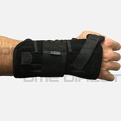 450-LT Orthosis Wrist Titan Felt Left Black Part# 450-LT by Hely & Weber Qty of 1 Unit