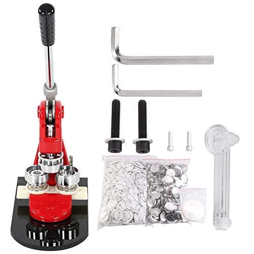 Chapas para máquina de hacer chapas, con 1000 piezas de chapa circular y cortador circular, 2,5 cm/3,2 cm/5,8 cm a elegir 3.2cm