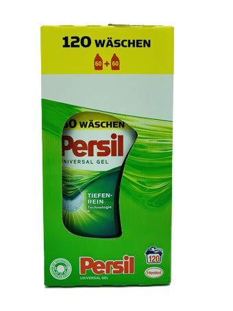 Persil Universal Gel, Vollwaschmittel, Reinheit & Pflege, 1er Pack (1 x 120 Waschladungen)