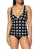 Esprit Miami Beach Padded Tankini, Negro (Black 001), 38 (Talla del Fabricante: 36) para Mujer