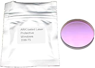 JHCHMX 10pcs/lot JGS1 Quartz Fiber Laser Protective Windows/Lens 10045746/968752 36x5mm For Bystronic/Highyag/IPG Laser Machine (36x5mm-10pcs)