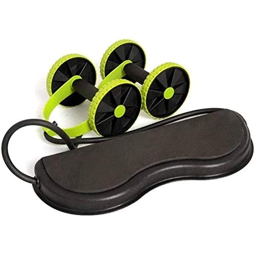 AB Roller Exercise Wheel AB Wheels Roller Stretch Elastic Abdominal Resistance Pull Rope Tool Abdominal Muscle Trainer Home Fitness Equipment,Green