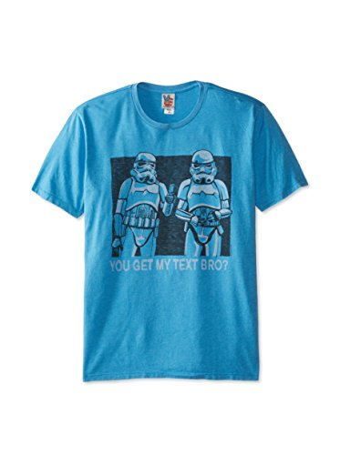 Junk Food T-Shirt Star Wars You Get My Text Bro Clothing - Taille S