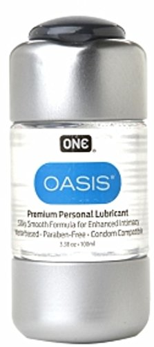 ONE Oasis Personal Lubricant 3.38 oz (Pack of 3)