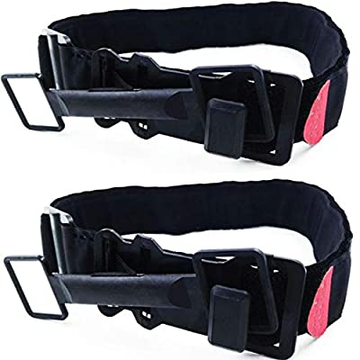 Jwxstore J0416001 Tourniquet Tactical Emergency Outdoors Spinning Military One-Handed Medical First Aid Equipment, Black, 2 Piece