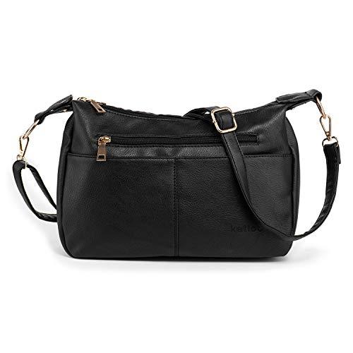 Katloo Medium Hobo Bag PU Leather Women Purse Handbag $12 (50% Off with code)