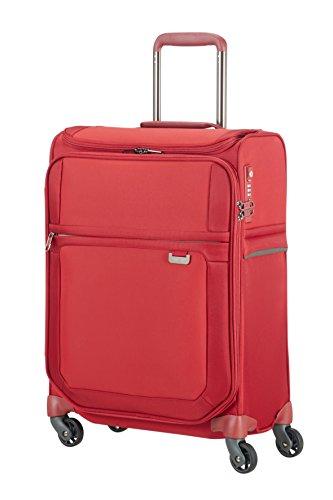 Samsonite Uplite - Spinner 55/20 Smart Top Equipaje de mano, 55 cm, 41 liters, Rojo (Red)