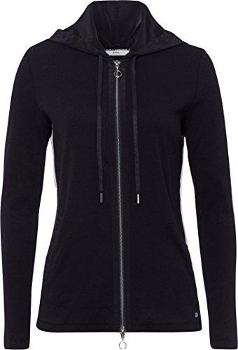BRAX Damen Style Bette Sweatshirt, Black, 38