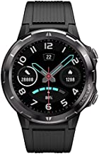Smart Watch for Android and iOS Phone, Lintelek 1.3 Inch Round Touch Screen Smartwatch with Heart Rate Monitor, Fitness Tracker 5ATM Waterproof, Step Counter for Men and Women