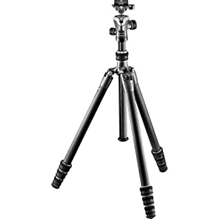 Gitzo Lightweight Series 1 Traveler Carbon Fiber Tripod with Center Ball Head, Silver & Black (GK1545T-82TQDUS) (B071F31XLR) | Amazon price tracker / tracking, Amazon price history charts, Amazon price watches, Amazon price drop alerts