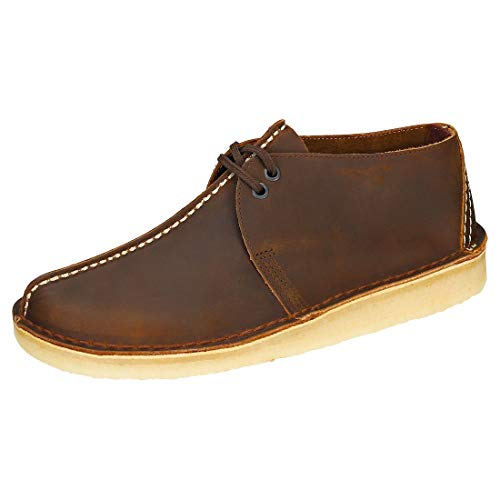Clarks Desert Trek Mens Casual Shoes 43 EU Beeswax