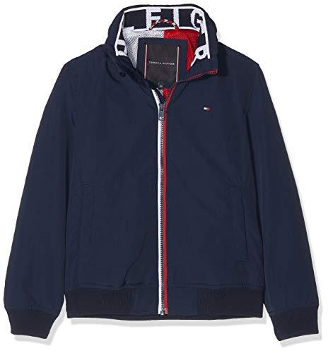 Tommy Hilfiger Tommy Hilfiger Baby-Jungen DG Essential Jacket Jacke, Blau (Black Iris 002), (Herstellergröße: 86)