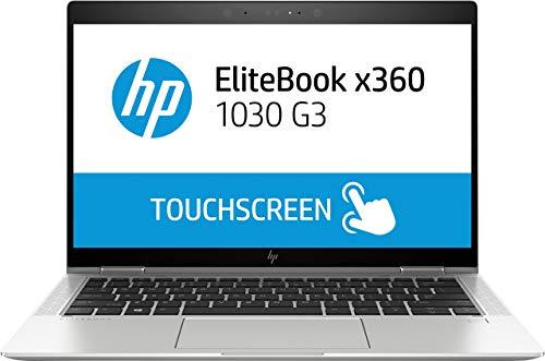 HP EliteBook x360 1030 G3 1.80GHz i7-8550U Intel CoreTM i7 8th Generation 13.3' 1920 x 1080Pixel Touch screen Silver (Renewed)