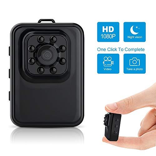 Verborgen Spy Cam intelligente monitoring computer camera 1080p HD babyfoon sport draagbare infraroodcamera for huis, auto, op kantoor binnen en buiten