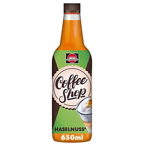 Schwartau Coffee Shop Haselnuss, Kaffeesirup, 6er Pack (6 x 650 ml)