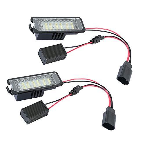 LED-Kennzeichenbeleuchtung für V-W Golf MK4 MK5 Polo Eos S-eat Altea Leon
