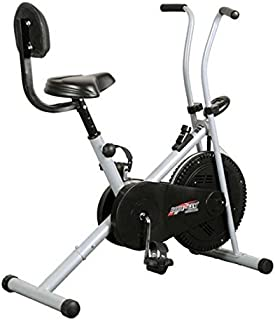 Healthex Exercise Cycle for Weight Loss at Home with Back Support || Air Bike 1001B