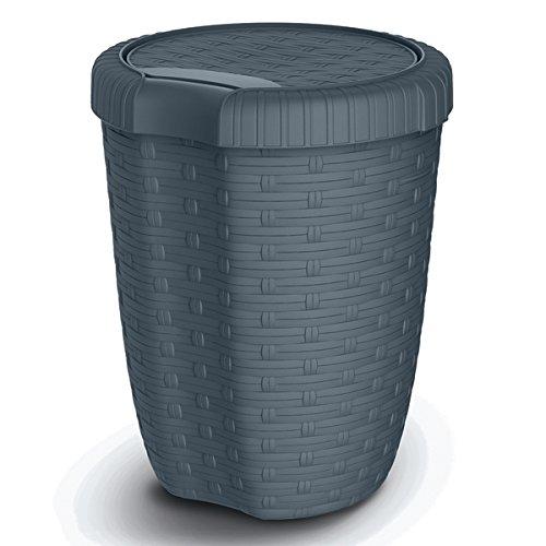Mondex M/üllsortierer 25 Liter mit gr/ünem Deckel