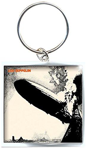 Led Zeppelin Zep 1 metalen sleutelhanger