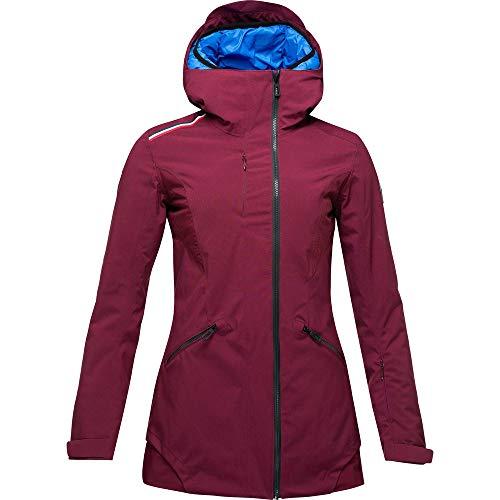 Rossignol Damen Skijacke Cadran Long Jacket M Weinrot
