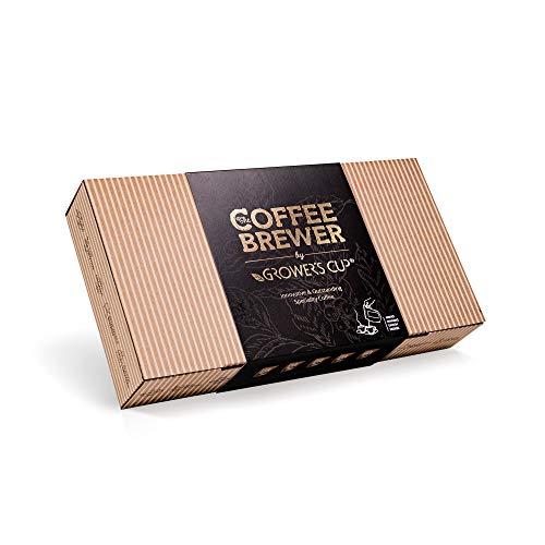 Innovatives Kaffee Geschenk Set für Männer & Frauen - 10 Beste Single Estate Spezialitäten & Bio Kaffees Aus Aller Welt | Brauen & Genießen Sie Jederzeit & Überall | Probierset für Kaffeeliebhaber