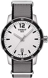 ساعة تيسوت كويكستر ناتو سينثيتك T095.410.17.037.00 للرجال