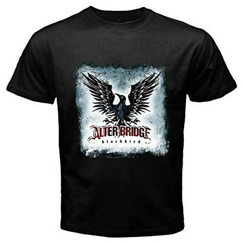 Alter Bridge Grunge Rock Band Blackbird Mens T-shirt maat S-3Xl