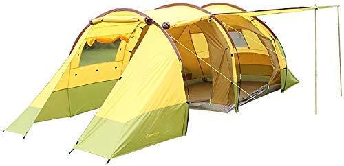 WBJLG Tienda de campaña para 5-8 Personas Toldo de Sombra al Aire Libre Lona Impermeable para montañismo de Supervivencia en el Desierto