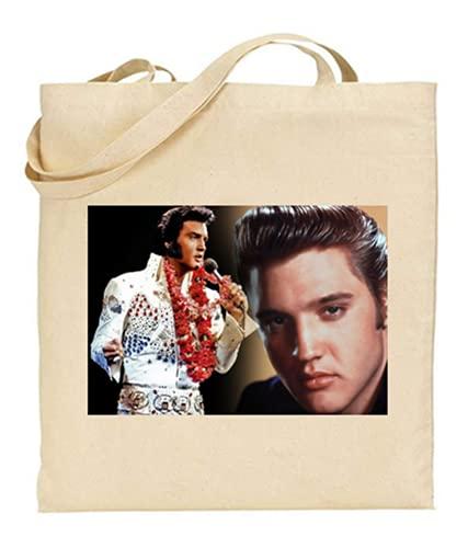 stars and stripes Baumwolltasche Elvis Presley Tom Jones - wählen Sie eine über Msg
