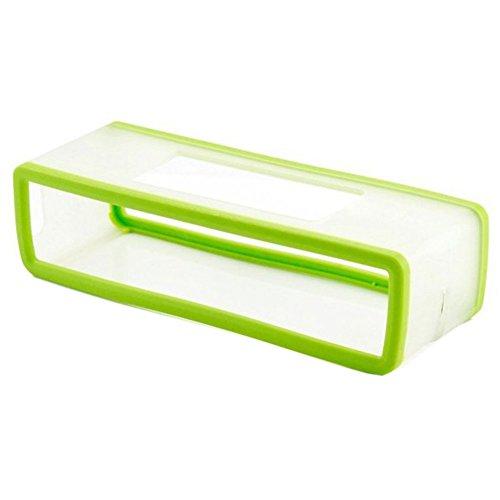 HopCentury Ersatz-Schutzhülle für Bose Soundlink Mini II und Mini Bluetooth-Lautsprecher, TPU Gel, weich, Grün