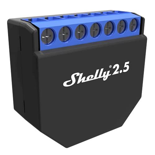 Shelly 4404 WLAN (Wi-Fi) Schaltaktor für 2X 10 A 2.5