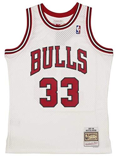 Mitchell & Ness NBA 2.0 Chicago Bulls - Scottie Pippen #33 Camiseta white