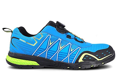 Zapato PAREDES Seguridad Jerez - Color Azul - Cierre Boa (Numeric_42)