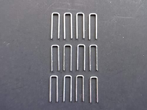 Amazing Drapery Hardware 12 PCS Plantation Shutters Tilt Rod, Louvers Staples, Replace Missing Staples